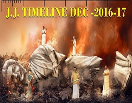 Timeline of events after Jayalalithaa's death – Dec 5, 2016 to 2017!