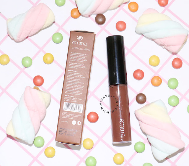 Review Emina Creamatte Lip Cream Choco Lava