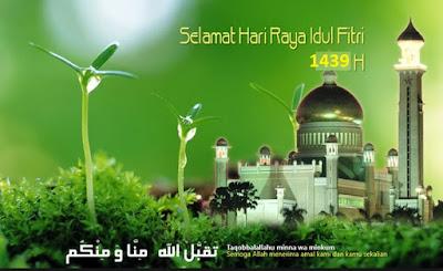 Selamat Hari Raya Idul Fitri 1439 H -Info hub Ali Syarief Hp. 089681867573-087781958889 - 081320432002