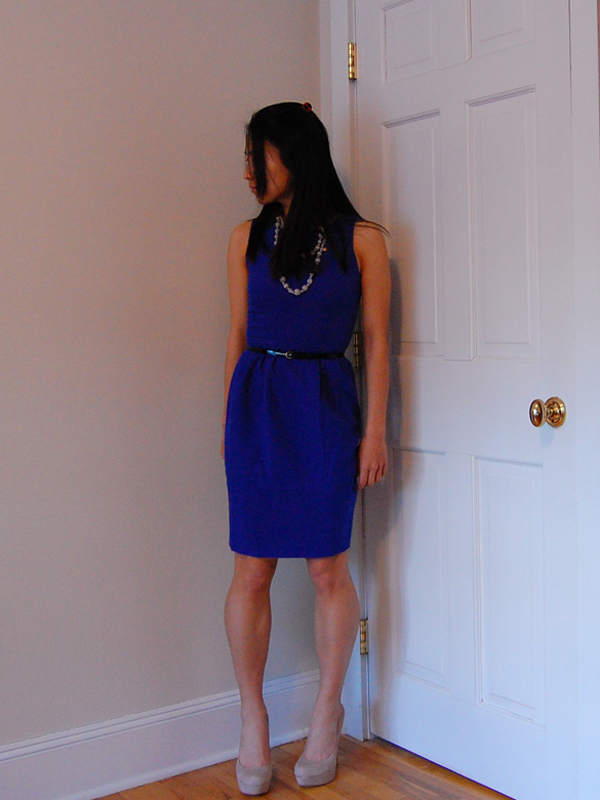 OOTD : Electric Blue