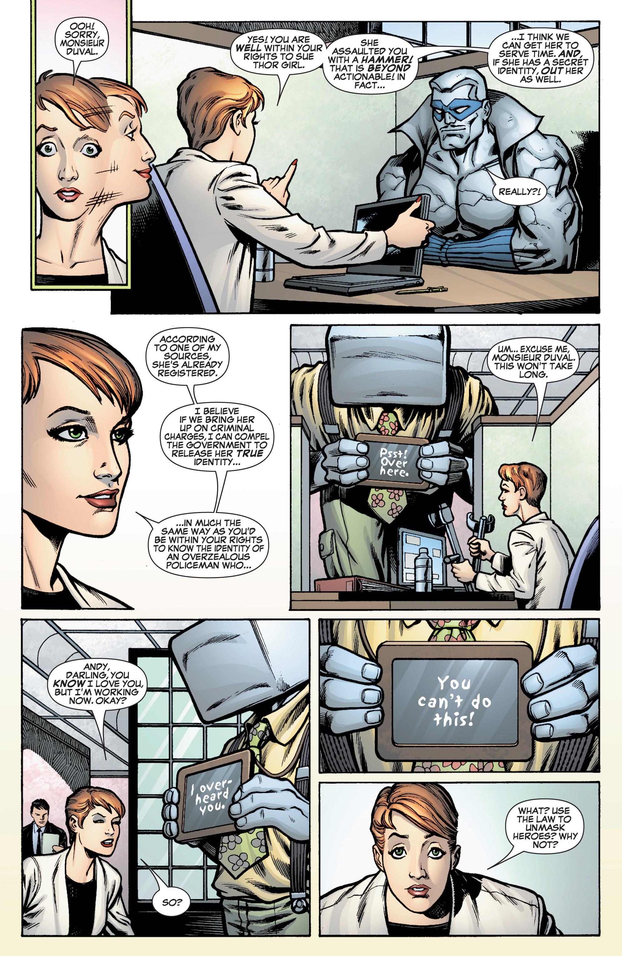 Read online She-Hulk (2005) comic -  Issue #10 - 10