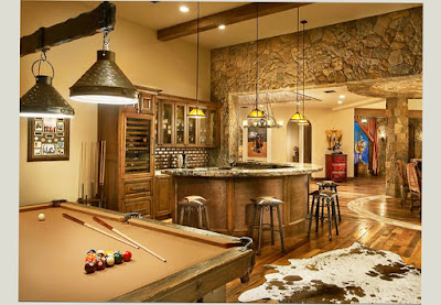 Best Basement Ideas Man Cave With Bilyard Table and Smart Room 2016