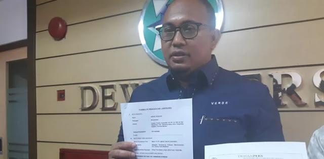 BPN Kembali Laporkan <i>MetroTV</i>, Kali Ini soal Kampanye Prabowo di Sumbar
