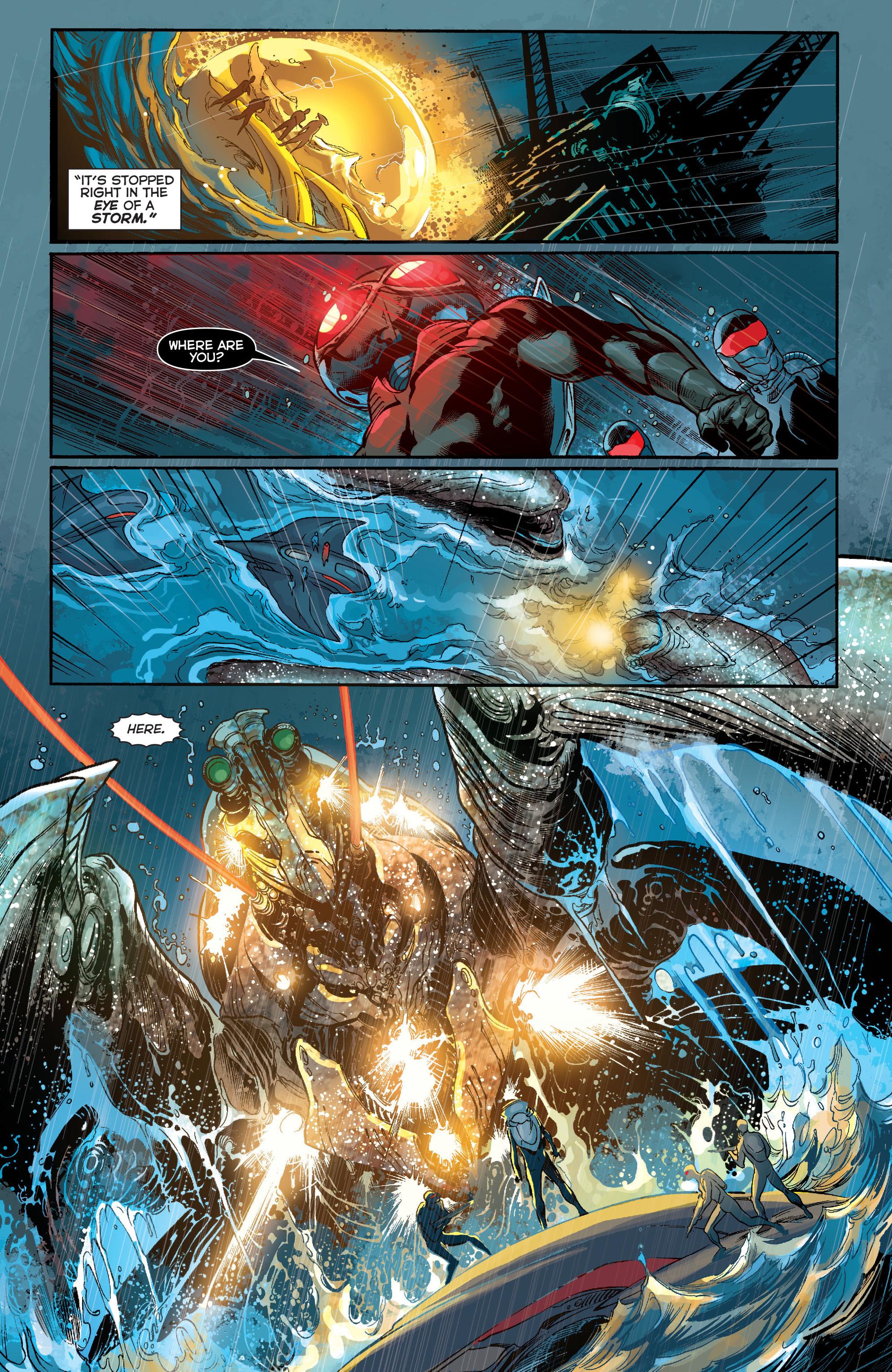 Read online Aquaman (2011) comic -  Issue #13 - 9