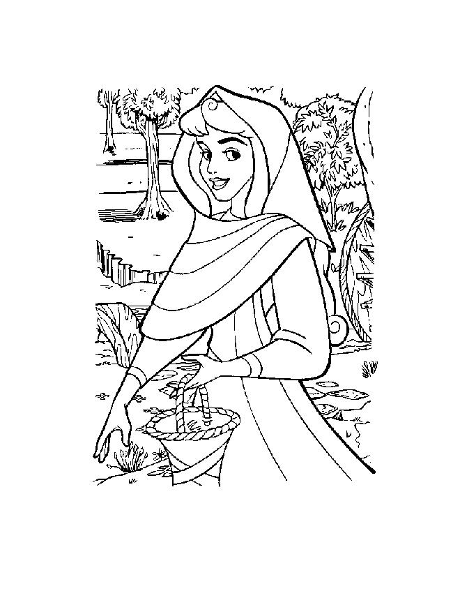 60 Desenhos Da Princesa Bela Adormecida Para Colorir Pintar