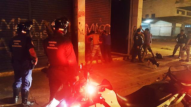 Operação da Guarda Municipal de Campo Grande (MS) com polícias reforça segurança