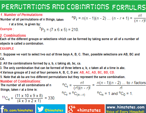 formulas-for-permutation-and-combination