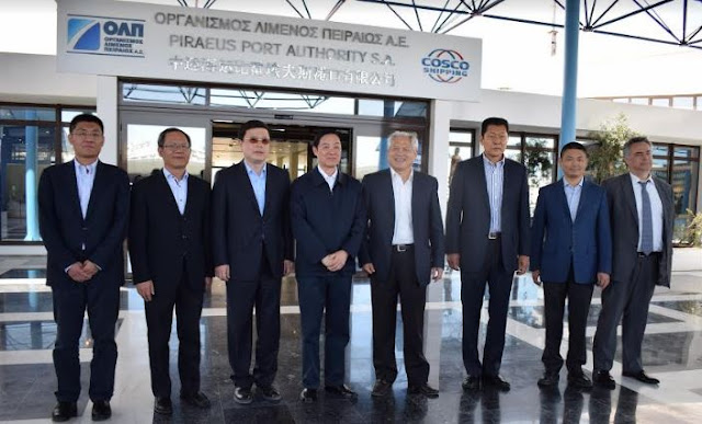 Επίσκεψη του Mr. Liu Qibao στην ΟΛΠ Α.Ε.