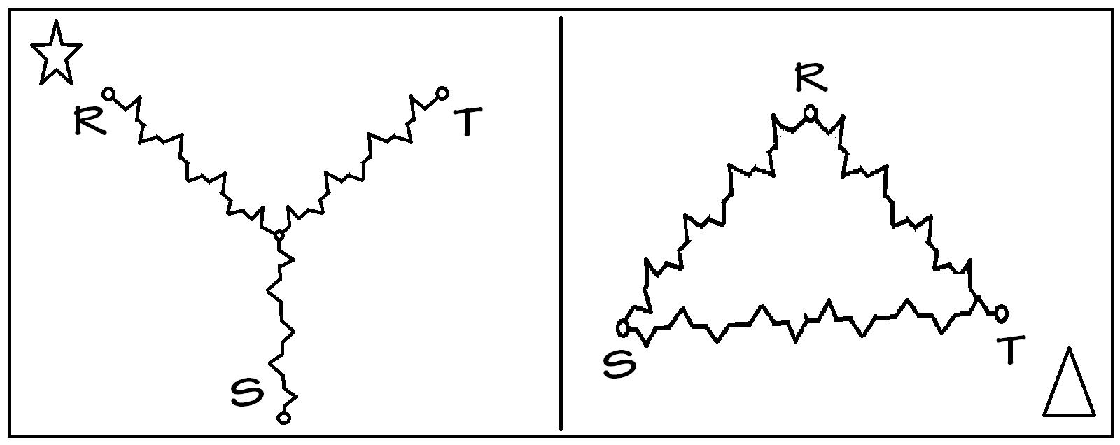 Wiring Diagram Star Delta Bintang Segitiga