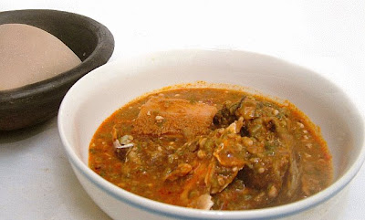poisoned eba and okro soup
