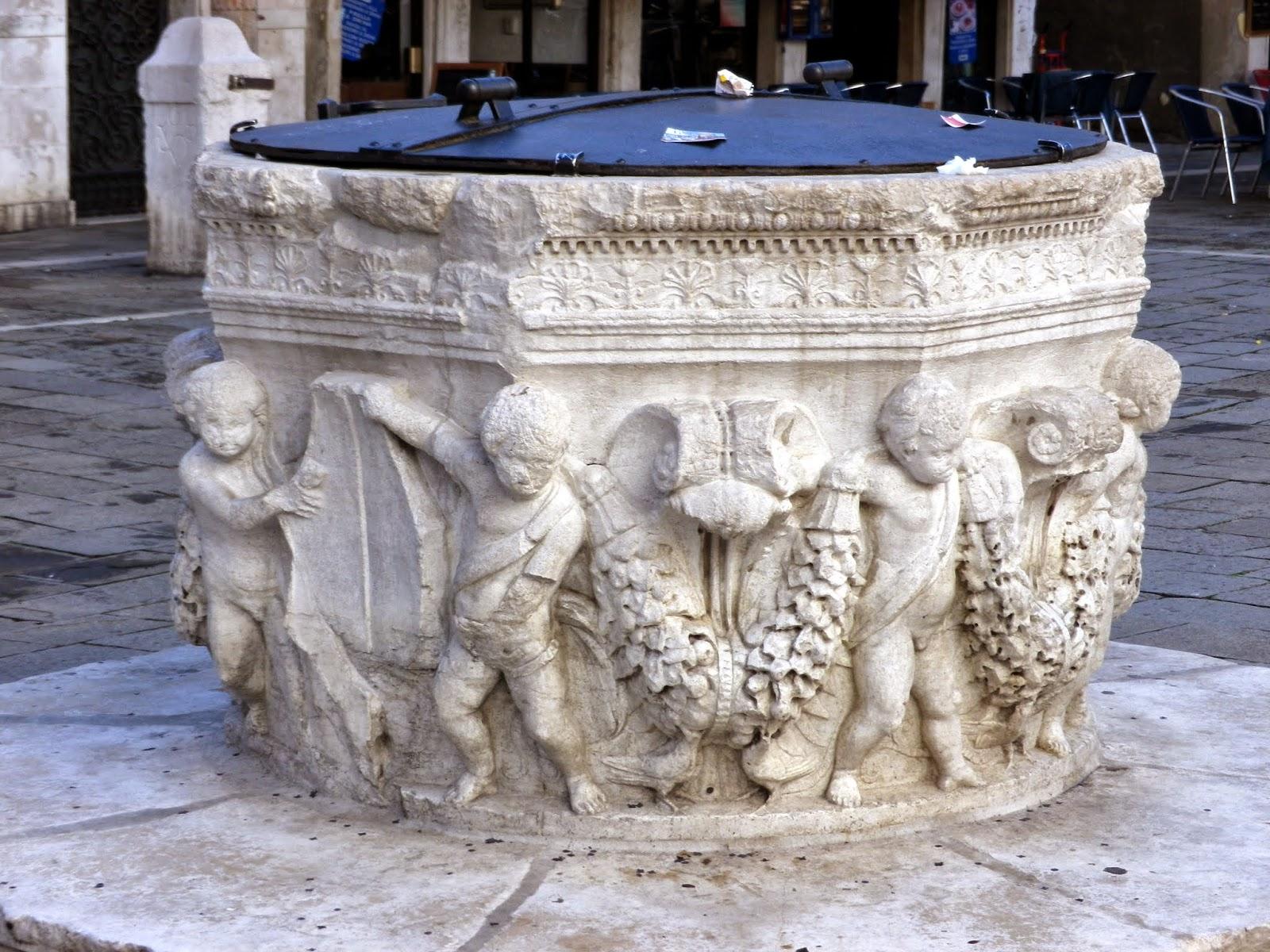 Well-head (vera da pozzo) Campo Santi Giovanni e Paolo, Venice