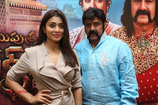 Shriya Saran Nandamuri Balakrishna at Gautamiputra Satakarni Team Press Meet Stills  0202.JPG