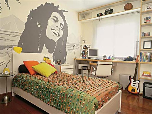 Great Teen Bedrooms Decorating with Various Theme Great Teen Bedrooms Decorating with Various Theme reage fan teen boys bedroom