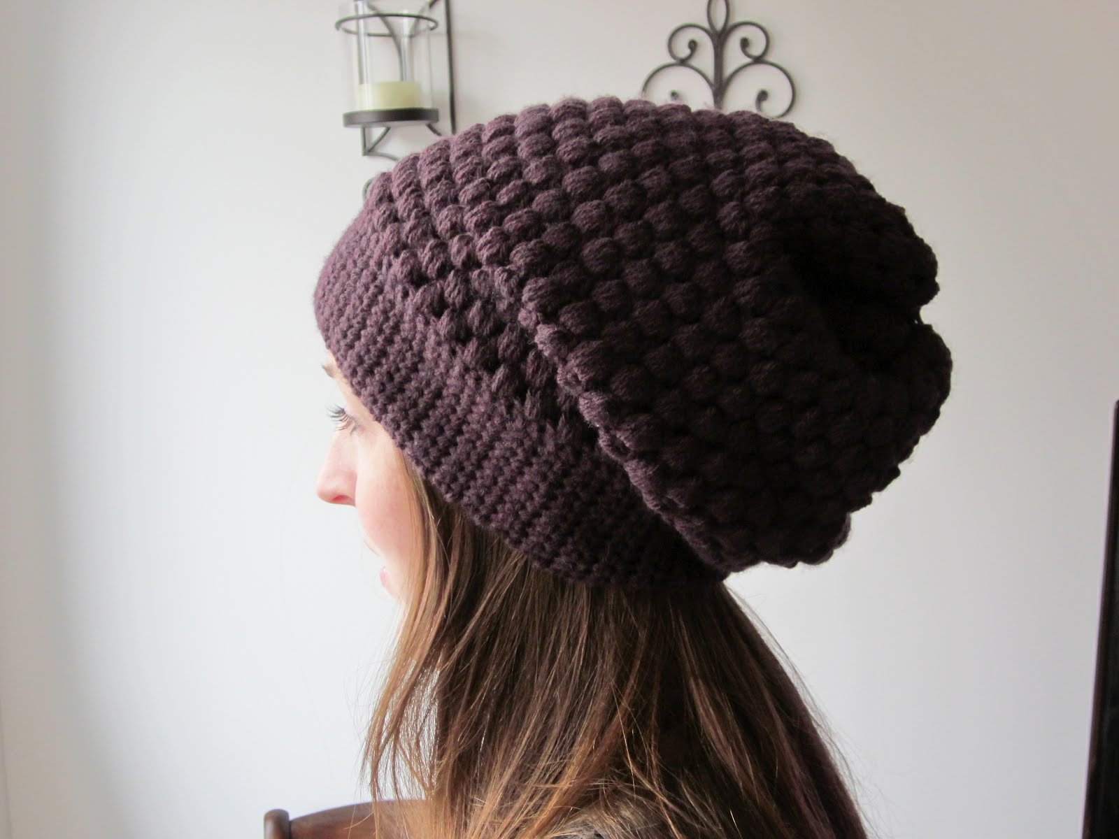The Crafty Novice  DIY  Slouchy Urban Beanie 9b59e6c91bf