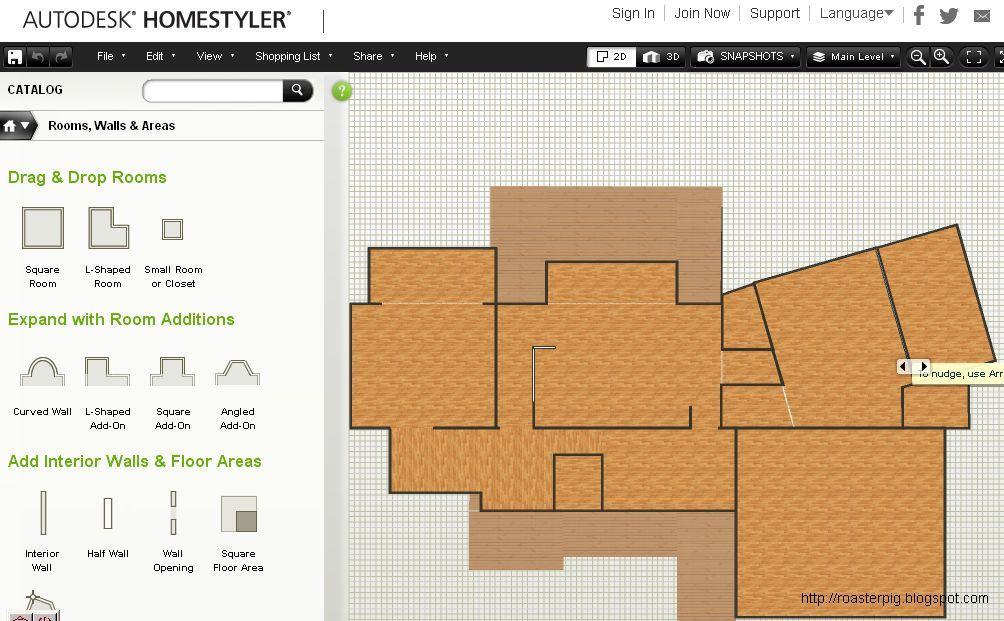 免費室內設計軟件 Floorplanner vs Homestyler - 花小錢去旅行