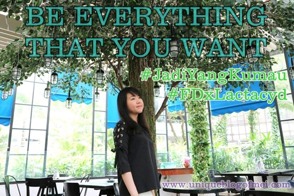 """Women are Special: Be Everything that You Want"" #HaloLactacydHerbal #JadiYangKumau"