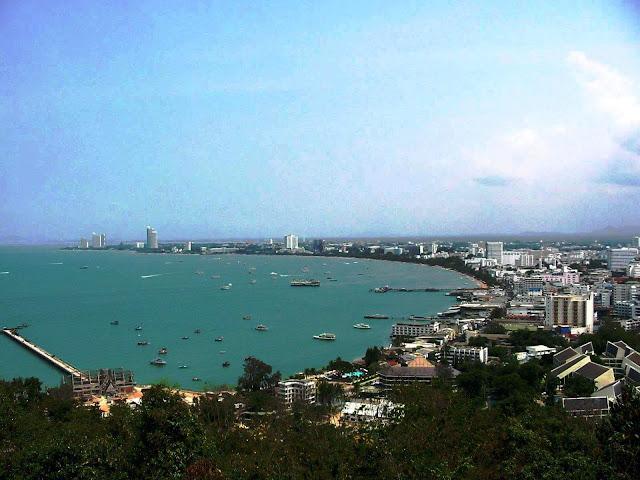 Bay of Pattaya, Thailand