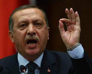 Erdoghan gacantiisa muxuu sidan u yeelaa markuu hadalayo