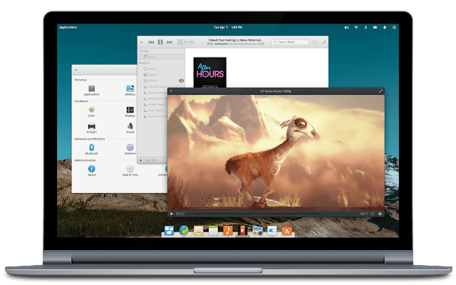 Light and Fast PC Operating System