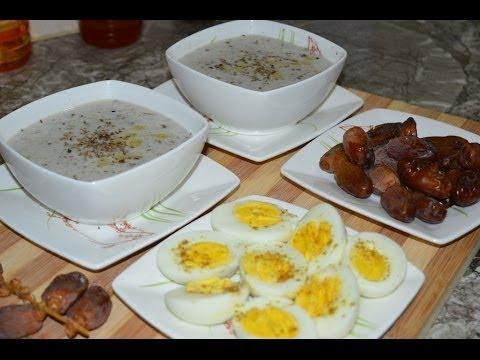 طريقة تحضير حسوة البلبولة بالزعتر و النافع (الحساء المغربي)