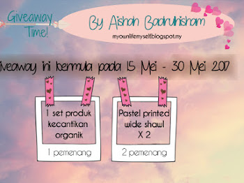 Giveaway Time by Aishah Badrulhisham