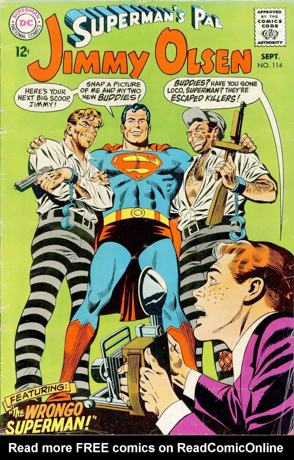 Supermans Pal Jimmy Olsen (1954) 114 Page 1