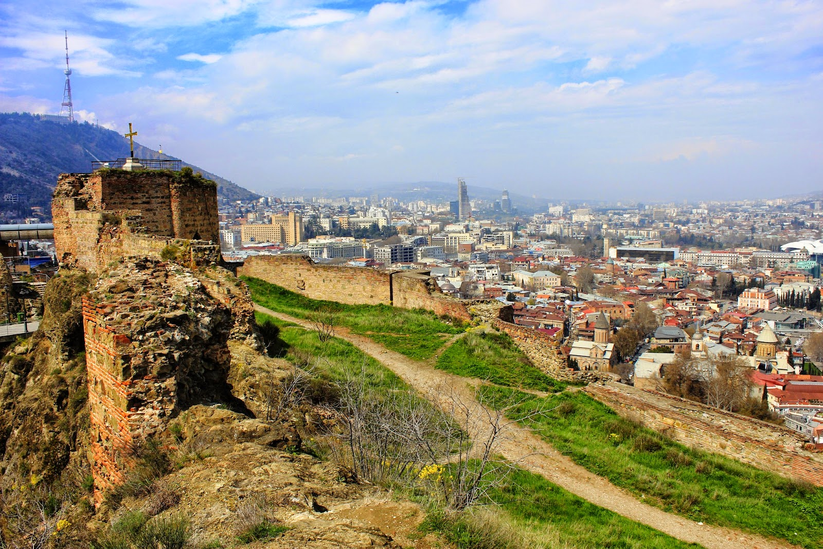 twierdza Narikala Tbilisi