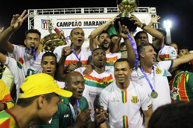 Cordino 1 x 2 Sampaio Corrêa - O Maior do Maranhão fatura o 33º título maranhense