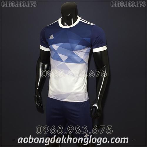 Áo Bóng Đá Không Logo Adidas KC Tím Than 2019