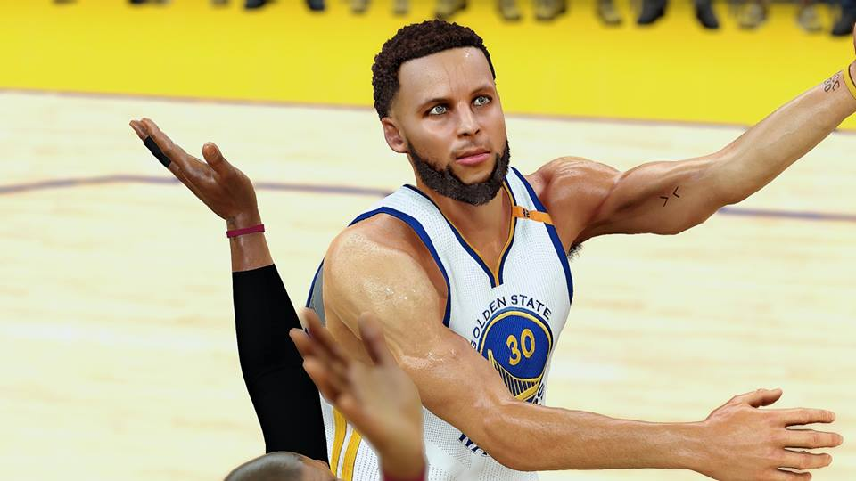 DNA Of Basketball | DNAOBB: NBA 2K17 Stephen Curry Cyberface WIP(v5.1) by 2ktons