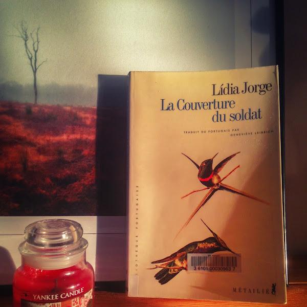 La couverture du soldat de Lidia Jorge
