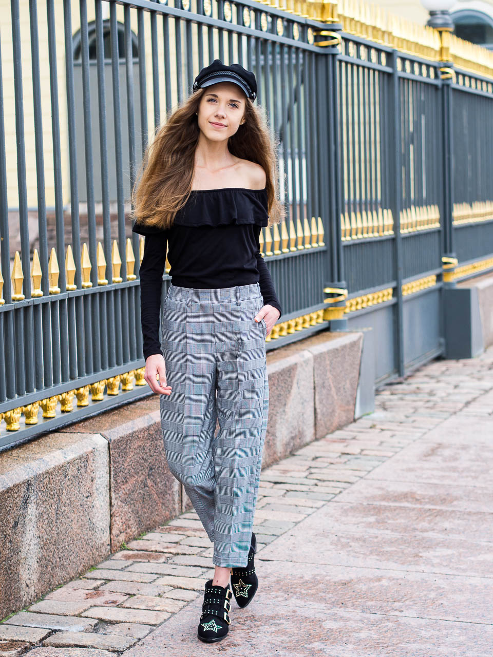 check-trousers-outfit-inspiration-fashion-blogger
