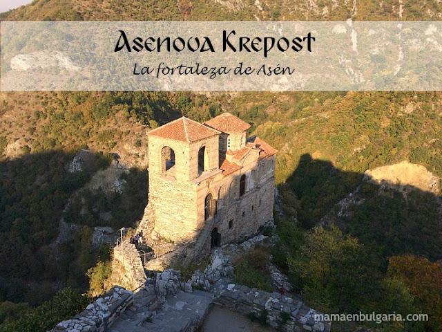 La fortaleza de Asén, Asenova Krepost, Bulgaria