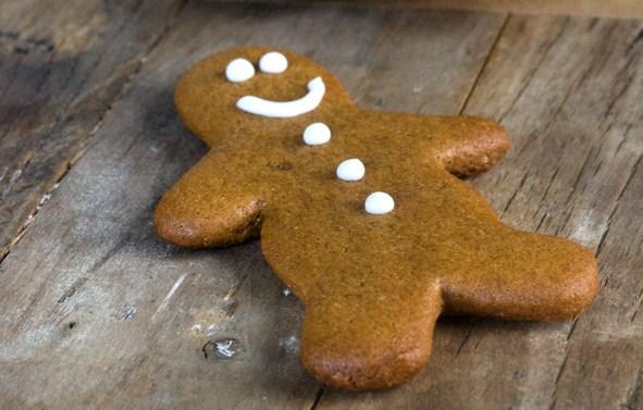 Christmas Crispy Gluten Free Gingerbread Men Cookies