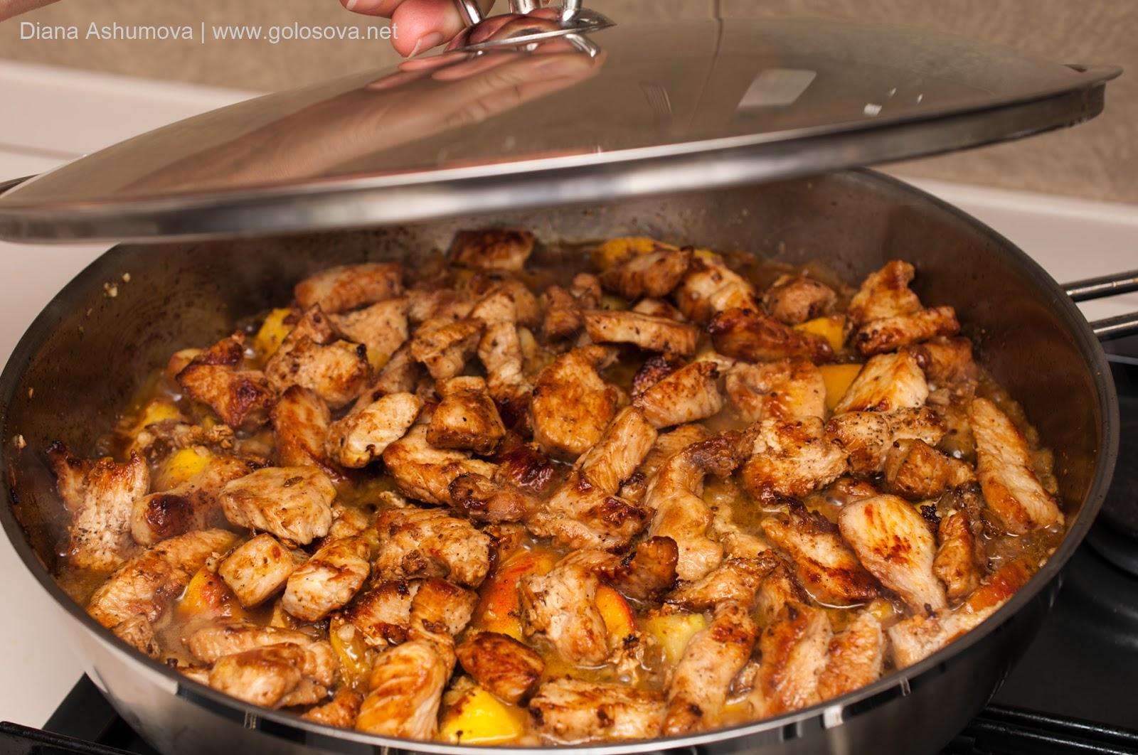 как вкусно пожарить филе индейки на сковороде