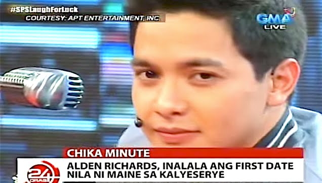 Alden Richards shares his unforgetable first date experience