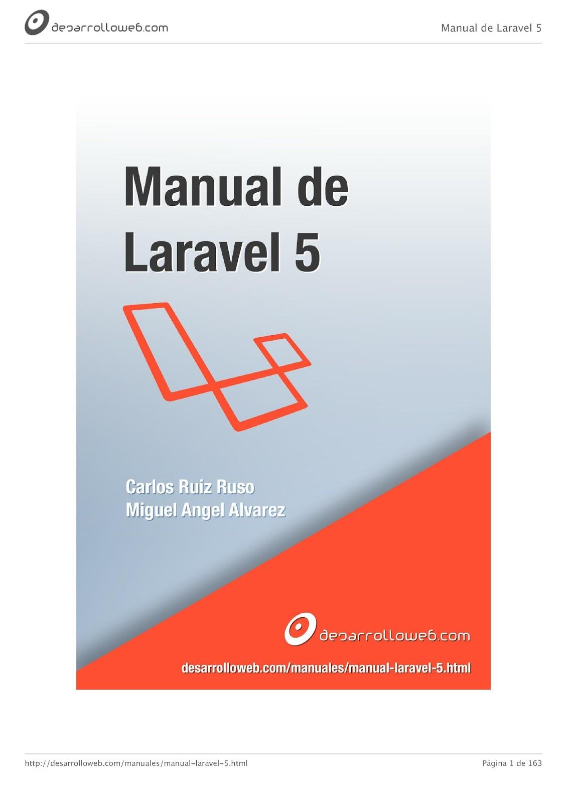 Manual de Laravel 5