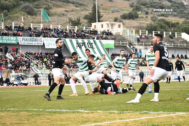 0-1 έχασε ο Παναργειακός από την Καλαμάτα στο Άργος - Οργίασε η διαιτησία (βίντεο+φάσεις)