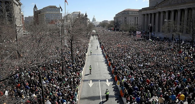 Pennsylvania Avenue March for Our Lives rally March 24. The Young are at the Gates. marchmatron.com