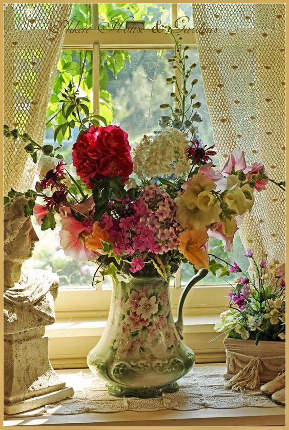 10 ιδέες με λουλούδια...!