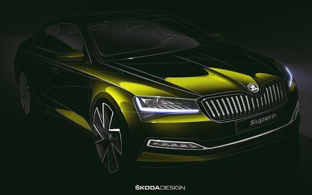 Novo Škoda Superb 2020