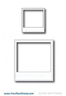 Instalove Polaroid Die Set
