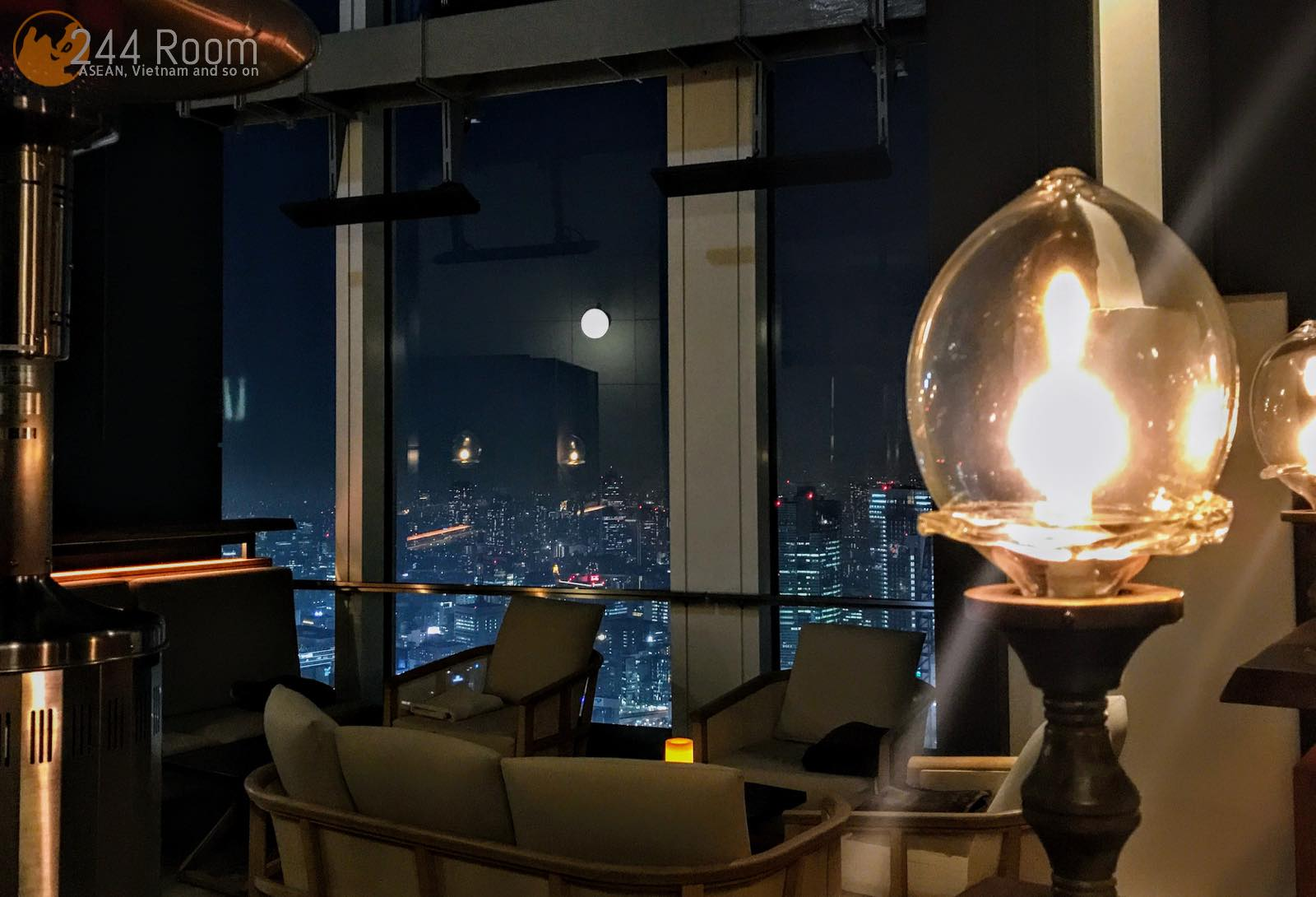 Andaz Tokyo Rooftop bar アンダーズ東京ルーフトップバー