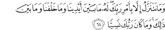 Surah Maryam ayat 64