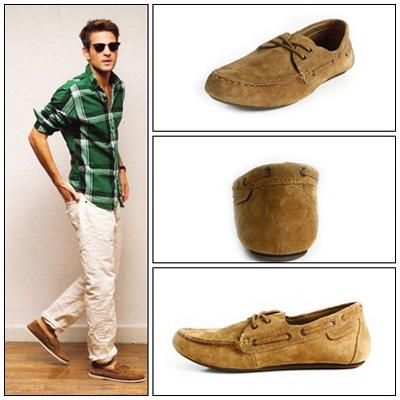 Chọn giày nam theo cung Song Ngư