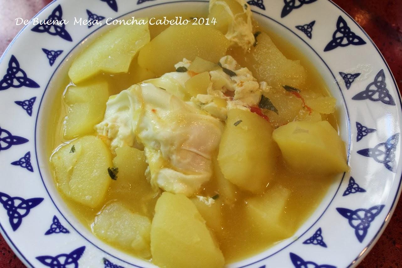 Patatas guisadas con huevo cuajado - Tiempo para cocer patatas ...
