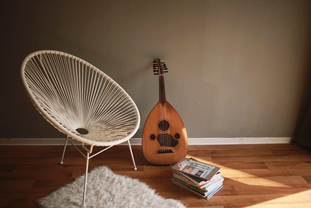 ud einrichtung instrument bücher inspiration living
