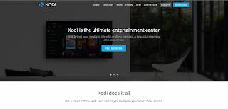 Kodi ホームページ