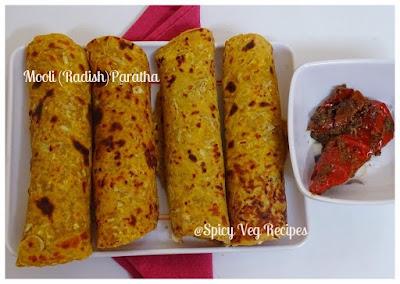 Breakfast&Snacks, Indian Bread, parathas,  punjabi,Breakfast N Snacks,  North Indian, parathas Recipes, punjabi, Regional Indian Cuisine, paratha,OOli, mouli,paratha