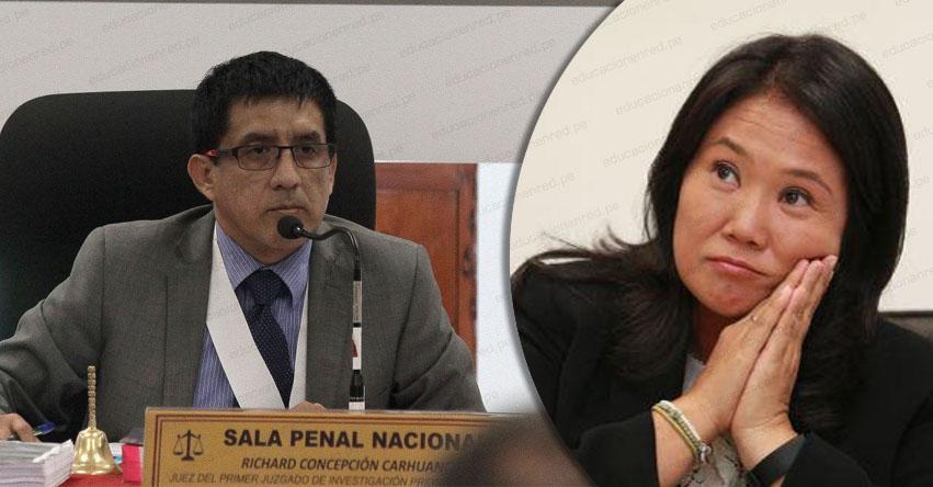 Suspenden audiencia de Keiko Fujimori hasta el lunes 29 (09:00 horas)